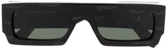 Off-White Havana logo sunglasses