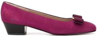 Salvatore Ferragamo Pre-Owned Vara Bow pumps