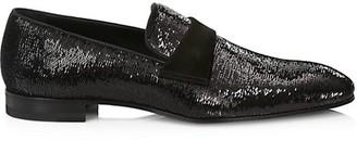 Paul Stuart Heron Sequin Formal Loafers