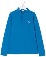 Paul Smith teen long sleeve polo shirt