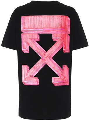 Off-White Marker logo cotton T-shirt