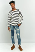 Edwin Ed-80 Pulled Wash Slim Tapered Jeans