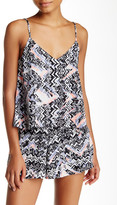 Necessary Objects Printed Halter Cami