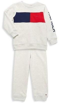 Tommy Hilfiger Little Boy's 2-Piece Sweatshirt & Jogger Pants Set