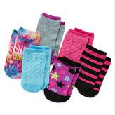 JCPenney Total Girl 6-pk. Shine No-Show Socks - Girls 7-16