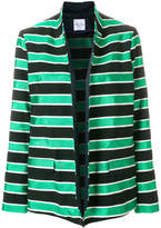 Roseanna striped oversized blazer