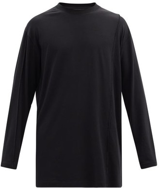 A-Cold-Wall* Logo-embroidered Jersey Long-sleeved T-shirt - Black