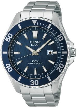 Pulsar Men's Watch XL Analogue Quartz Stainless Steel Sport PX3033 x 1