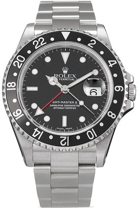 Rolex 2000 pre-owned GMT-Master II 40mm