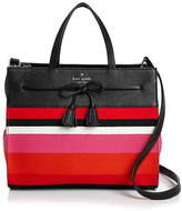 Kate Spade Isobel Striped Satchel