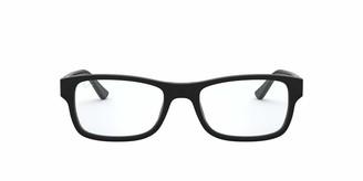 Ray-Ban 0rx5268 No Polarization Rectangular Prescription Eyewear Frame