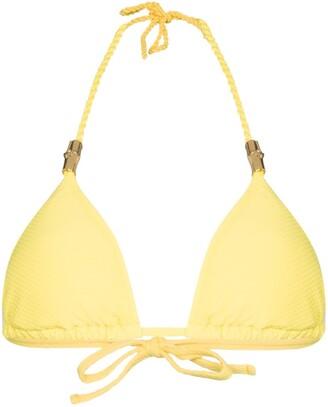 Heidi Klein Cancun triangle bikini top