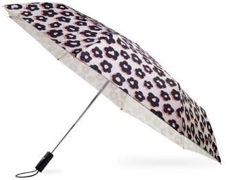 Kate Spade Flair Flora Travel Umbrella