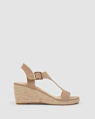 Sandler - Women's Nude Wedge Heels - Anchor - Size One Size, 37 at The Iconic