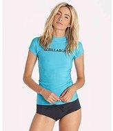 Billabong Women's Surf Dayz Wetshirt Short Sleeve Rashguard