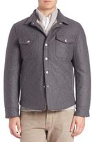 Brunello Cucinelli Padded Workshirt Jacket