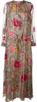 Etro floral paisley print maxi dress - women - Silk/Polyester - 40