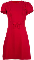 RED Valentino front bow dress - women - Polyester/Acetate/Viscose - 44