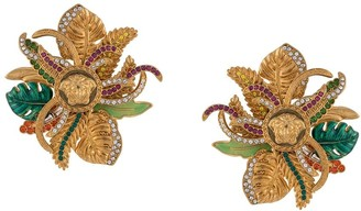 Versace Medusa jungle earrings