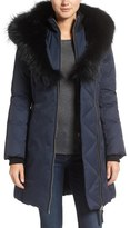 Mackage Down Parka with Genuine Fox Fur Trim