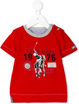 Lapin House - polo print T-shirt - kids - Cotton/Spandex/Elastane - 12 mth