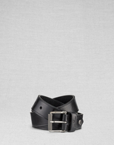Belstaff Broadford Belt Brass/Dark Brown