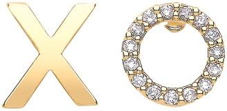 Estella Bartlett XO Stud Earrings