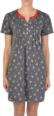 Claudel Printed Nightgown