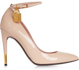 Tom Ford Patent-leather Pumps - Beige