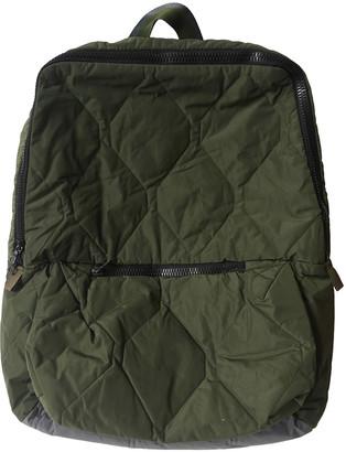 Christopher Raeburn Khaki Polyester Backpacks