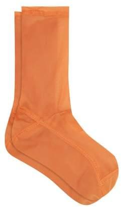 Darner Socks - Mesh Ankle Socks - Womens - Orange