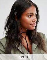 Cara Jewellery Cara NY 3 Pack Hair Slide