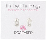 Dogeared Safety Pin Earrings
