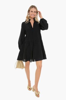 Pomander Place Black Reese Mini Dress