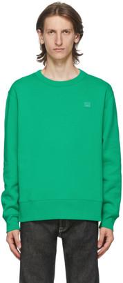 Acne Studios Green Fairview Patch Sweatshirt