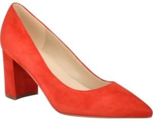 Marc Fisher Claire Block-Heel Pumps Women's Shoes
