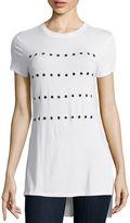 BELLE + SKY Short-Sleeve Grommet T-Shirt