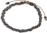 M. Cohen Stacked skull bracelet
