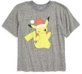 JEM Boy's Pokemon - Pika Wink Graphic T-Shirt
