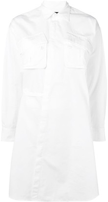DSQUARED2 Patch Pocket Shirt Dress