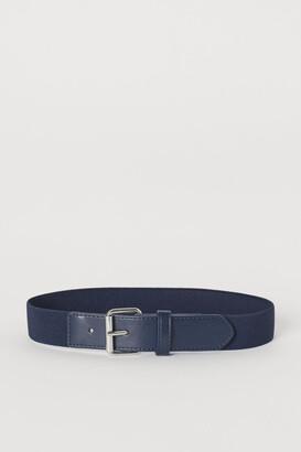 H&M Elasticized Belt - Blue