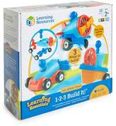 Educational Insights 15-Piece 1-2-3 Build It! Car, Plane & Boat Set