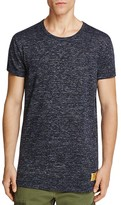 Scotch & Soda Long Fit Mélange Tee