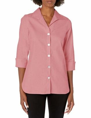 Foxcroft Women's Pandora Non-Iron Pinpoint Tunic