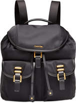 Calvin Klein Bailey Medium Nylon Backpack