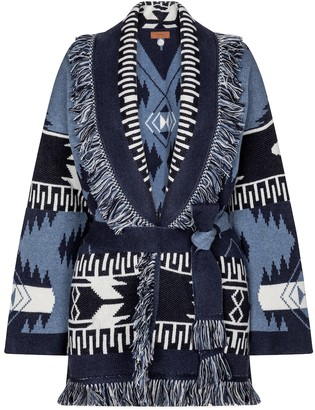 Alanui Exclusive to Mytheresa Regenerated Icon cashmere-blend cardigan