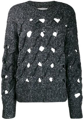 Etoile Isabel Marant Sesley open-knit jumper