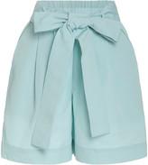 STAUD Sage Grosgrain Shorts