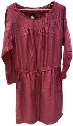 BOSS ORANGE Pink Silk Dress for Women
