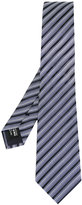 Giorgio Armani striped tie - men - Silk - One Size